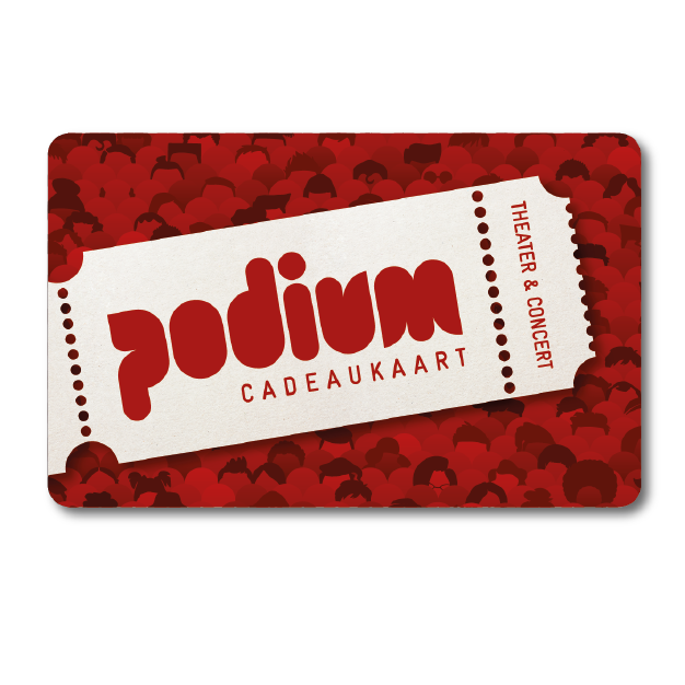Theater Beleving Podium Cadeaukaart