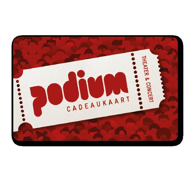 Theater Beleving Podium Cadeaukaart